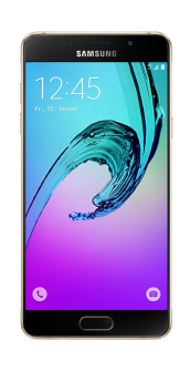 Samsung Galaxy A5 2016 gold front