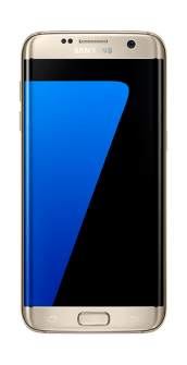S7 EDGE FRONT GOLD