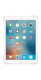 iPad Pro 9 7 gold front