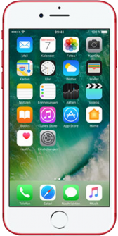 iPhone 7 red front