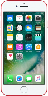 iPhone 7 plus red front