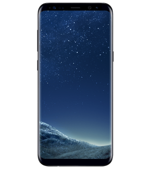 galaxy s8 plus black front