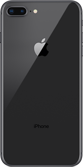 Apple iPhone 8 Plus spacegray back