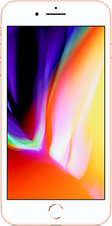 Apple iPhone 8 Plus gold front