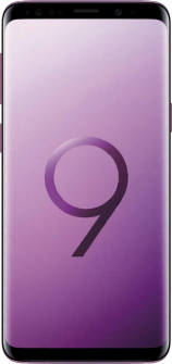 Samsung Galaxy S9 purple front