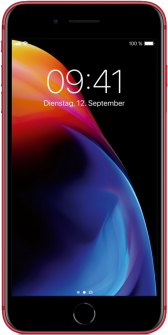 Apple iPhone 8 red Plus front