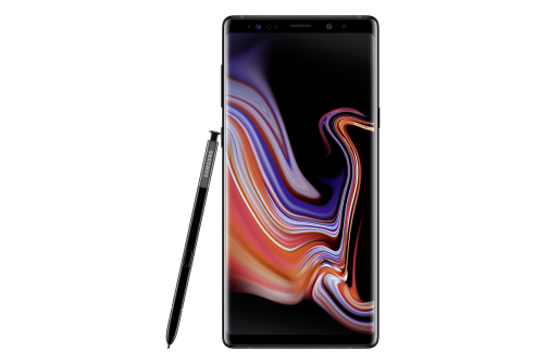Samsung Note 9 black front