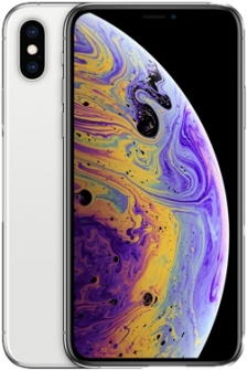 compare iphoneXS silver large