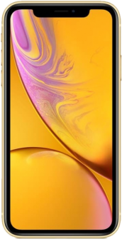 Apple iPhone XR yellow front
