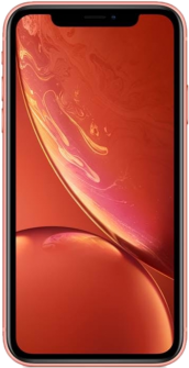 Apple iPhone XR coral front