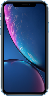 Apple iPhone XR blue front