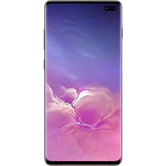 Samsung Galaxy S10 Plus black front
