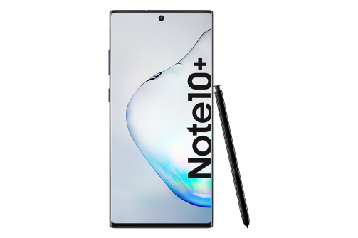 Samsung Galaxy Note10plus SM   N975F Aura Black Front