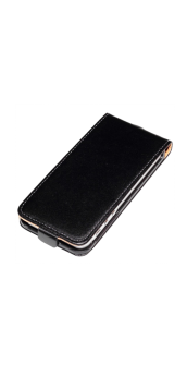 Apple Leather Case black