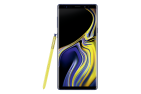 Samsung Note 9 blue front