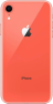 Apple iPhone XR coral back